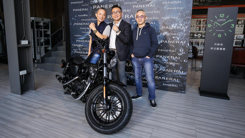 以錶會友!以車結盟!寶鴻堂 Panerai 交鋒 Harley-Davidson 的精彩午後