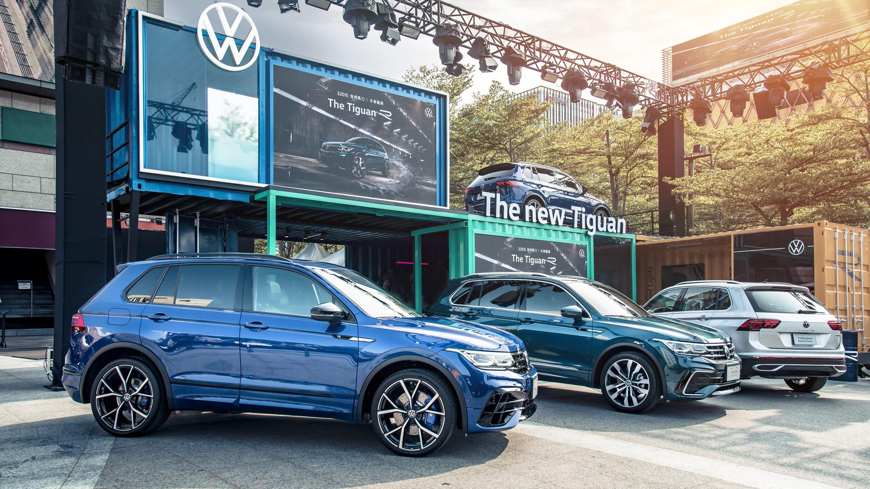 Volkswagen Tiguan 五車型 109.8 萬起,頂級 R 202.8 萬正式登場