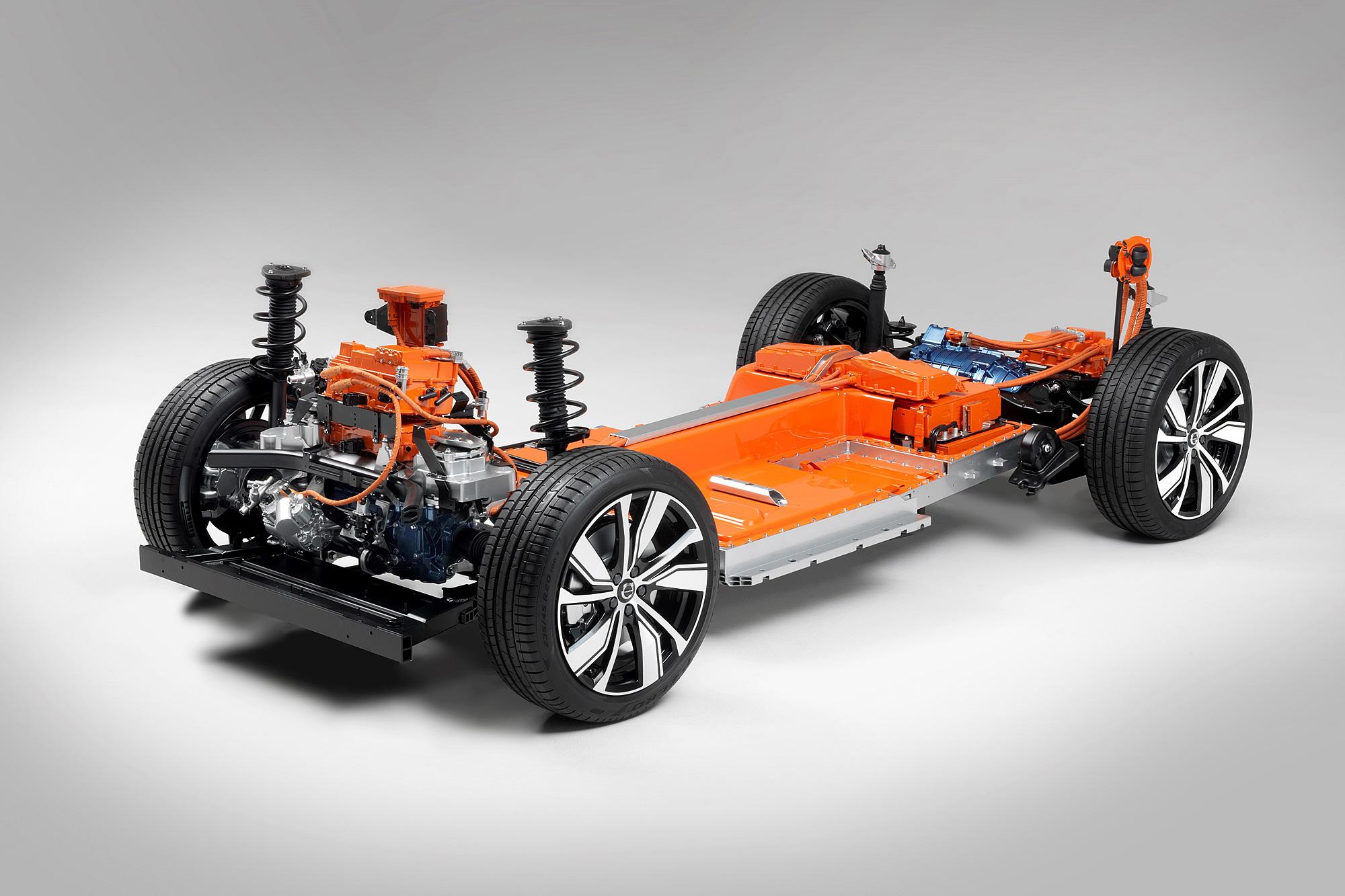 電動版 XC40 將於 10 月 16 日發表