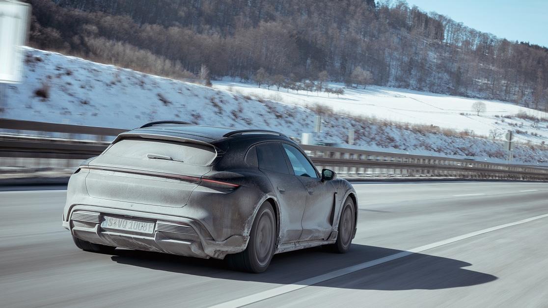 上市前極限測試!Porsche Taycan Cross Turismo 里程逼進百萬公里
