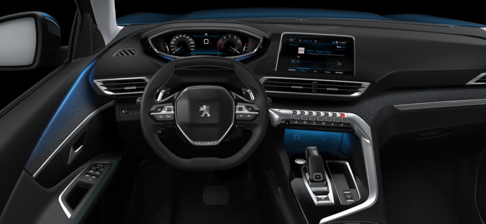 Peugeot 3008 內裝。