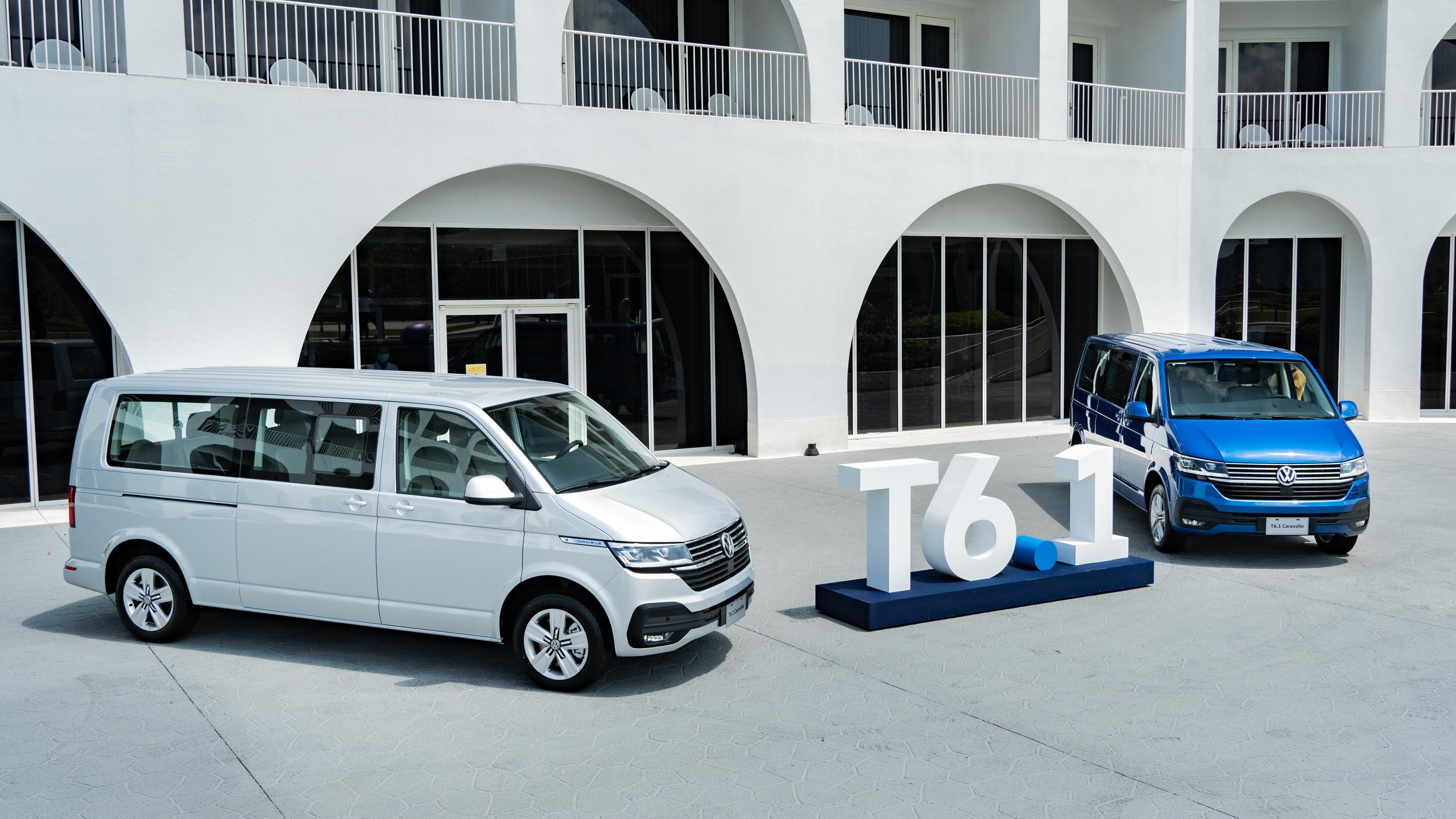 VWCV T6.1 Caravelle 多了 0.1, 是否讓運將更 Happy?