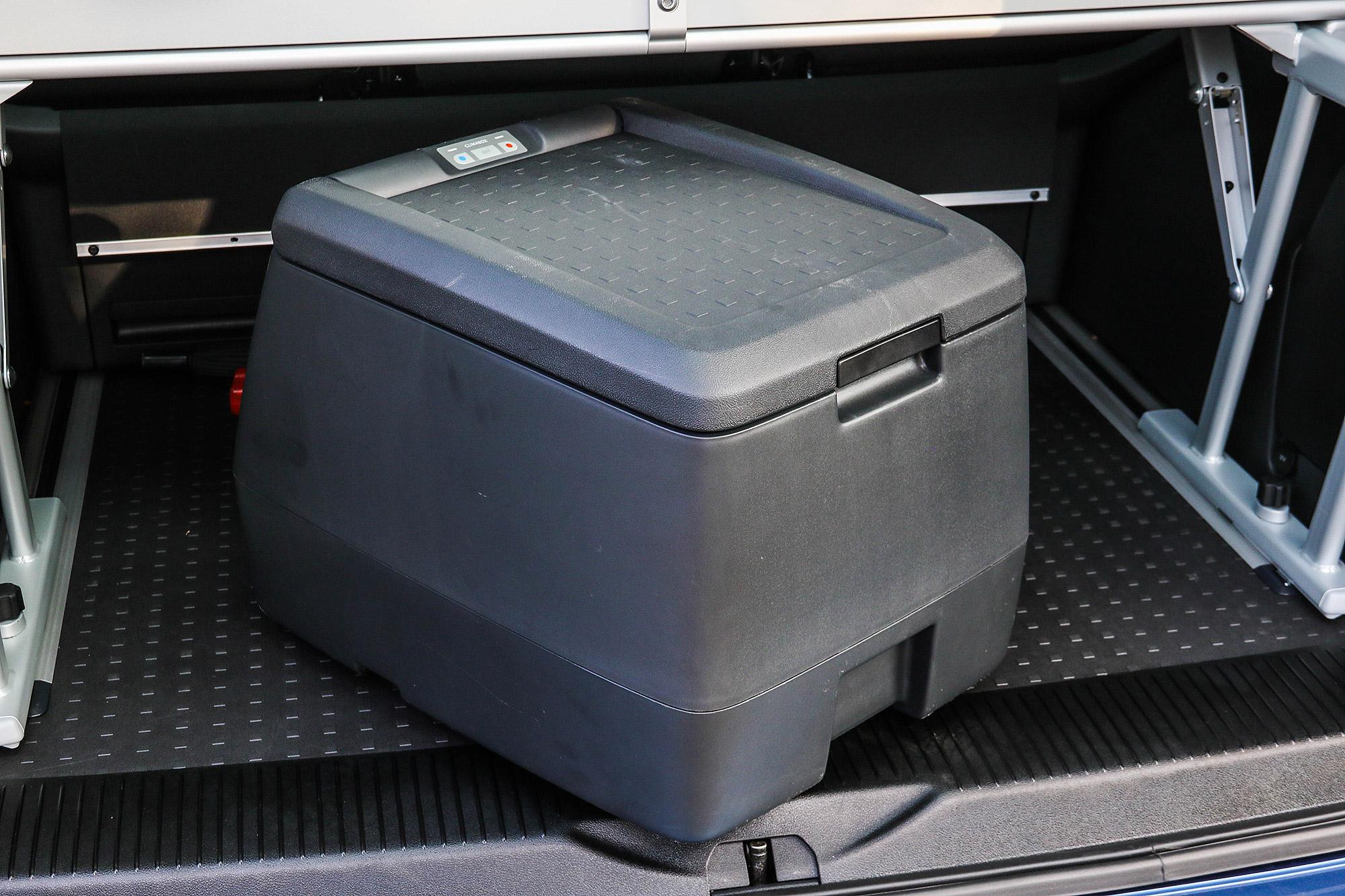冰箱亦是這是 Freestyle 新增的配備。