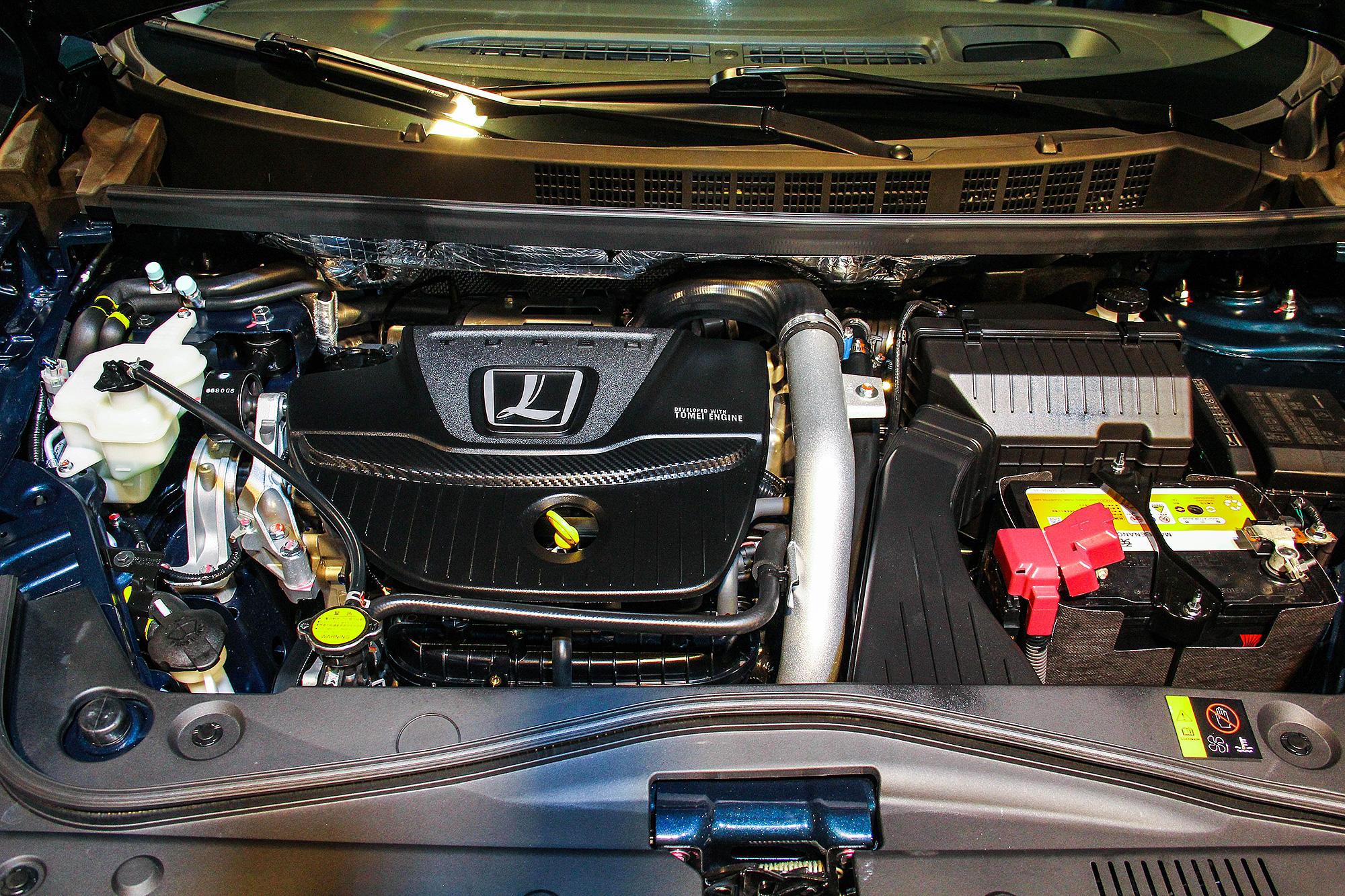 1.8 升渦輪增壓引擎與 U6 GT 相同