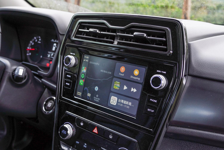 8 吋多媒體主機在汽油與柴油的頂級車款都列為標準配備,具備多項的手機整合功能,可大幅提升用車便利性與免除後續改裝麻煩。