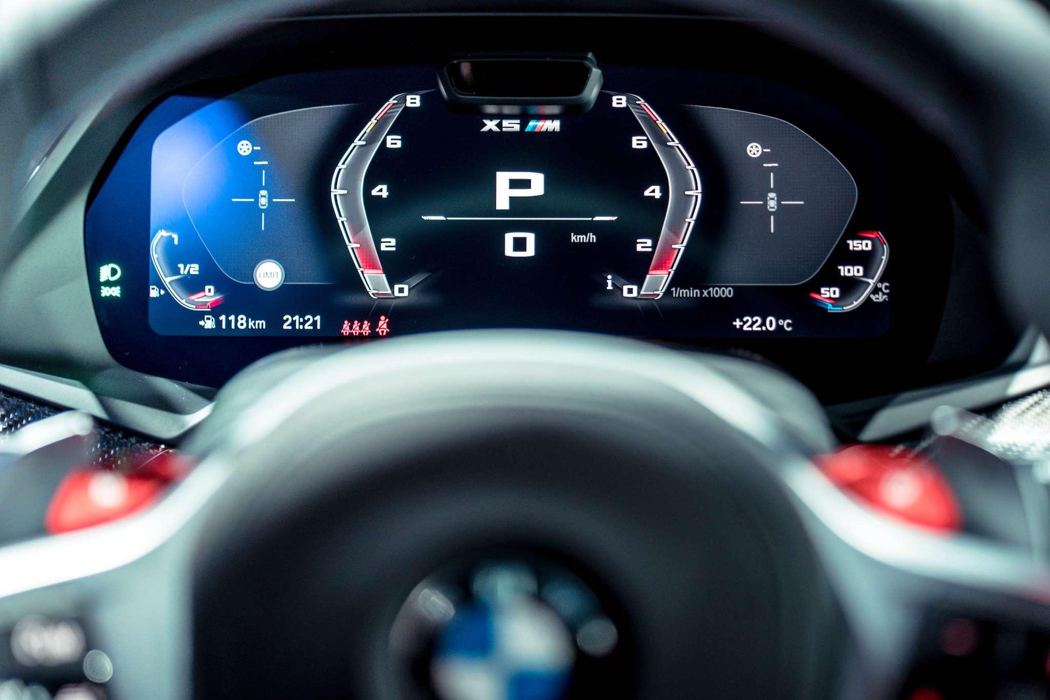 12.3 吋的虛擬數位儀錶在 Sport 模式中除去不必要的資訊,保留最精準數據,簡潔俐落的顯示畫面讓駕駛更全心專注。