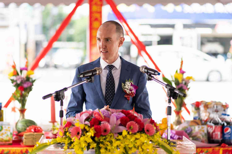 台灣捷豹路虎總經理 Garth Turnbull。