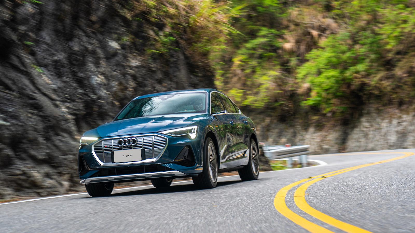 【影】Audi e-tron 橫跨中橫公路 台中花蓮翻山越嶺不充電