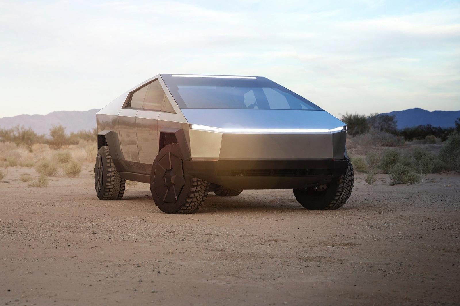 Tesla Cybertruck。