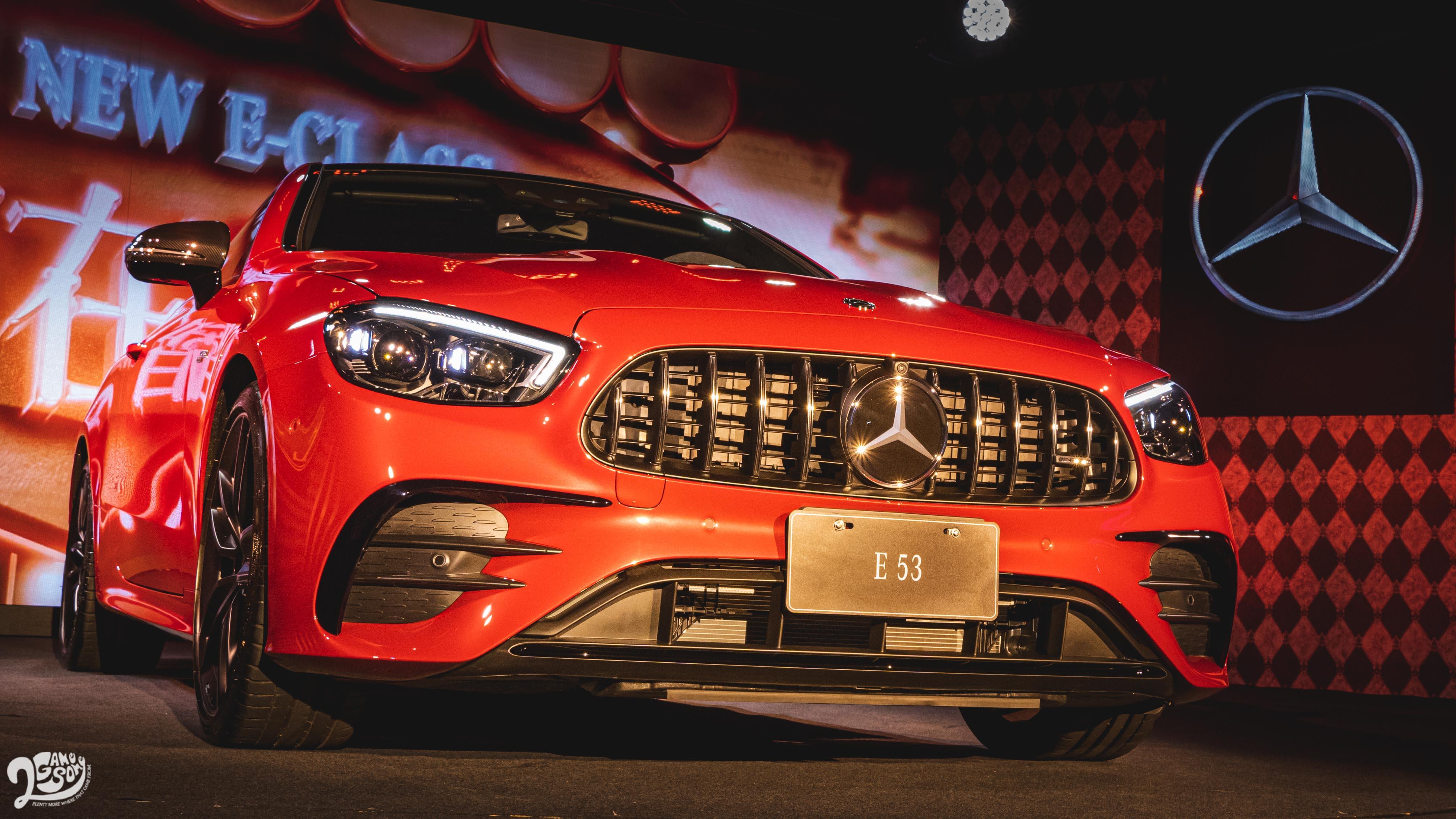 ▲ 小改款 Mercedes-Benz E-Class 全家族 269 萬起正式登場,AMG E 53 雙車型同步首演