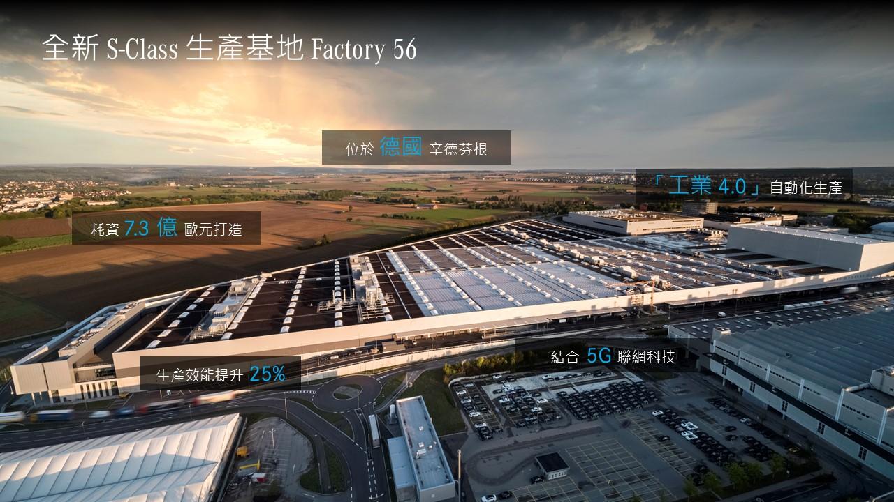全新 S-Class 誕生於生產基地 Factory 56。