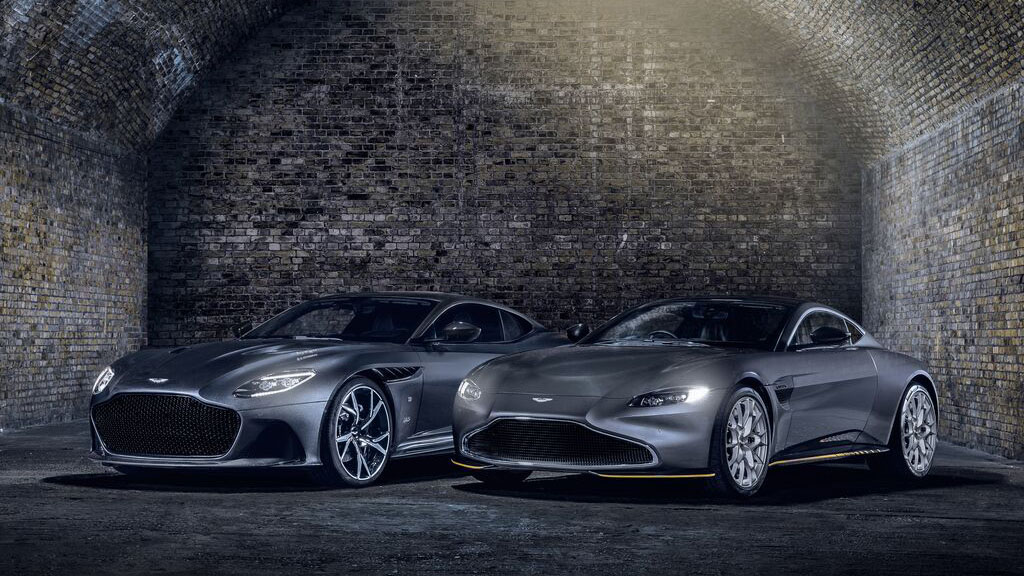 Aston Martin 推出兩款《007生死交戰》限量聯名特仕車