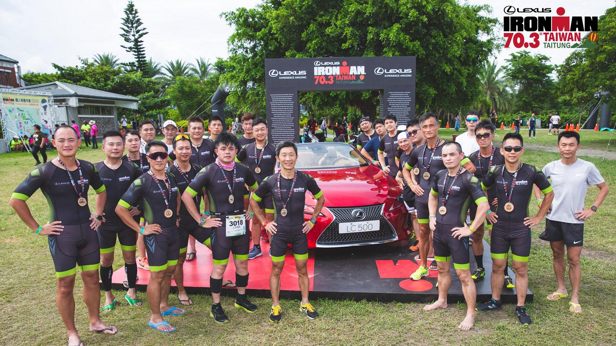 Lexus 由八大經銷商分別組隊參賽,一同完成 113 公里的艱鉅挑戰。