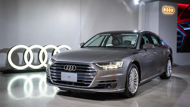 老闆終於可以入手了!Audi A8 將於 8/22 正式上市