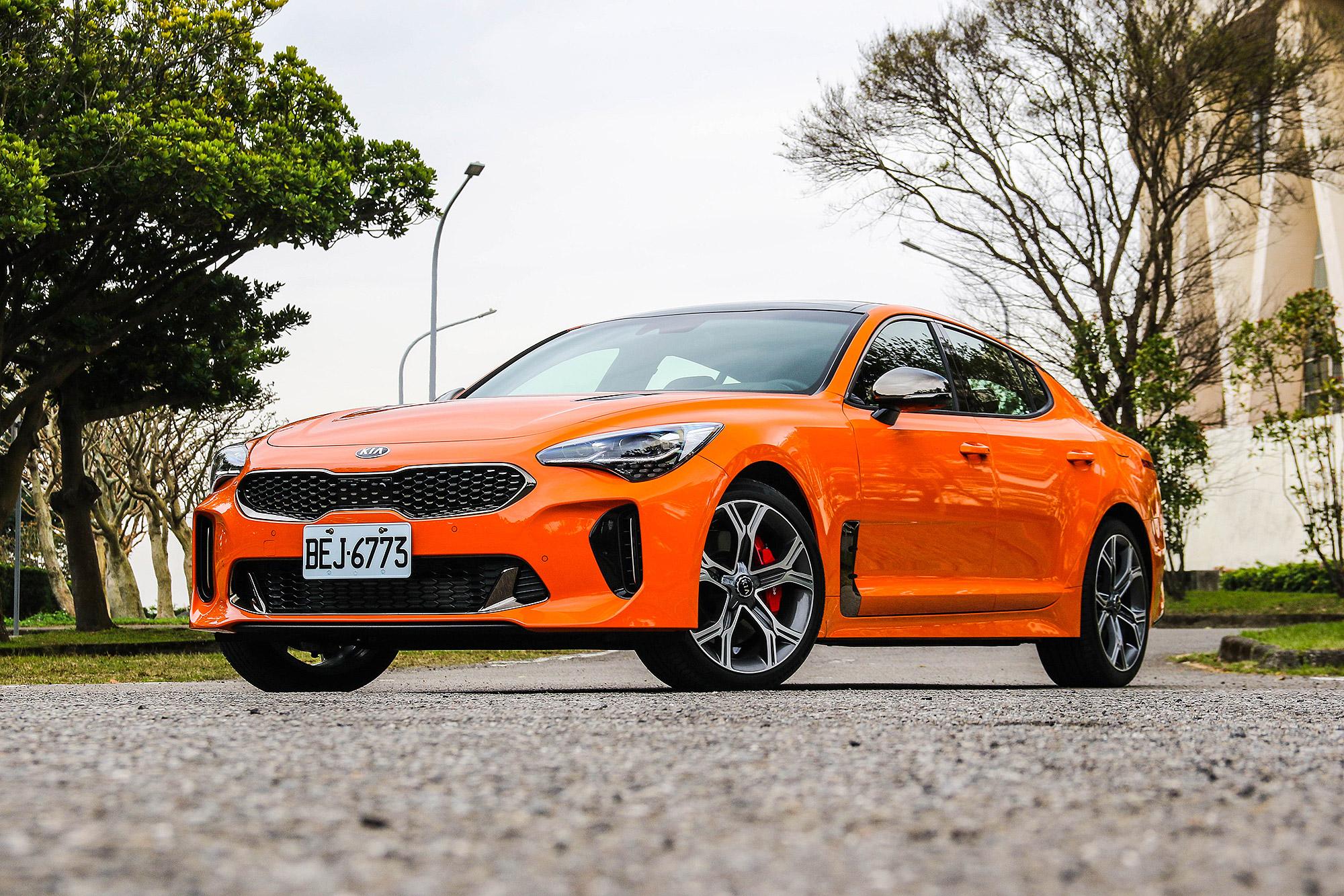 Stinger GT 雖然要價突破 200 萬元,卻是韓國品牌打入市場的另一種突破口。
