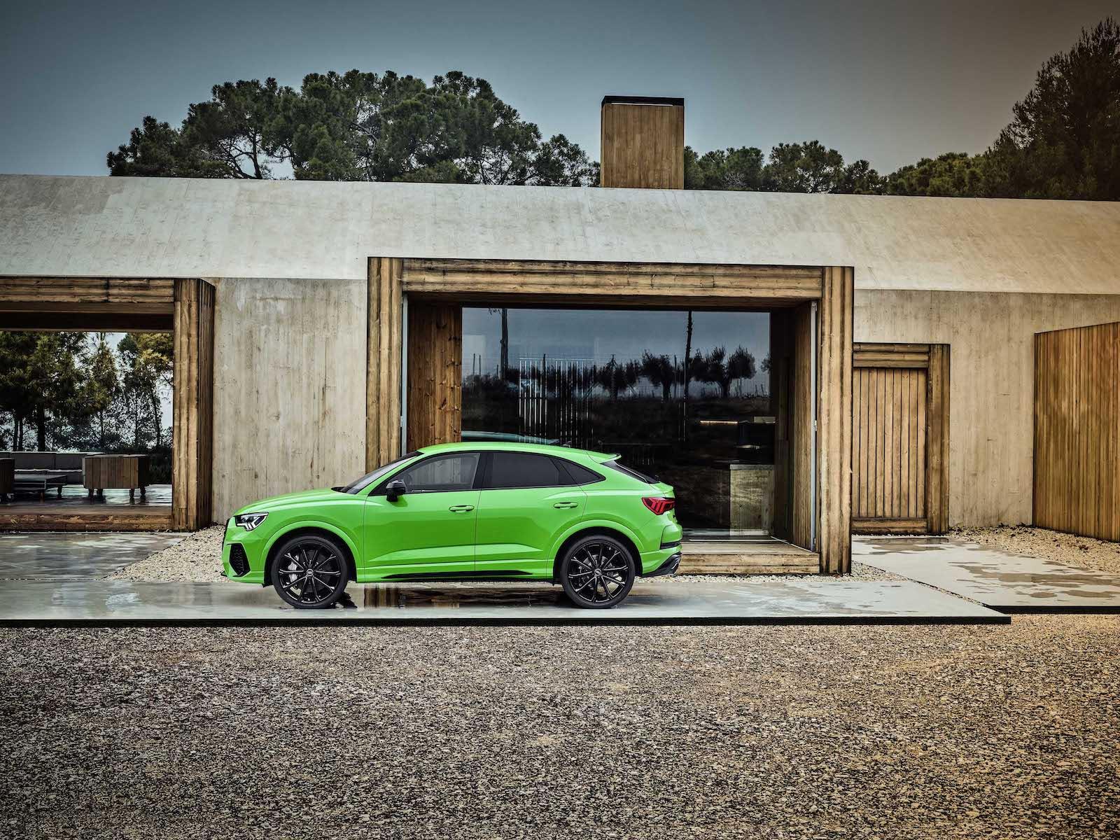 Audi RS Q3 Sportback。