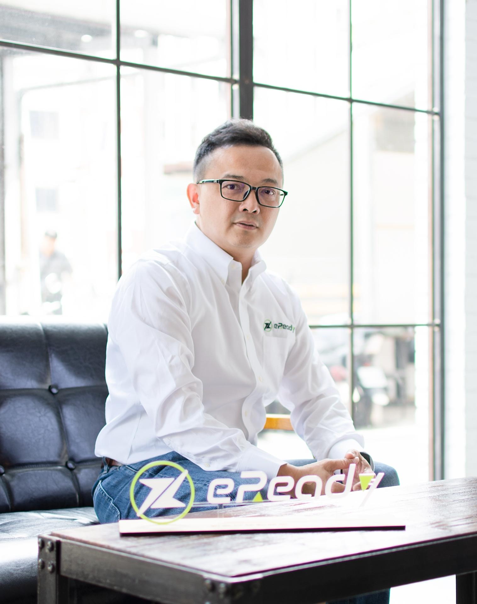 台鈴工業電動車事業部總監 林進賢。