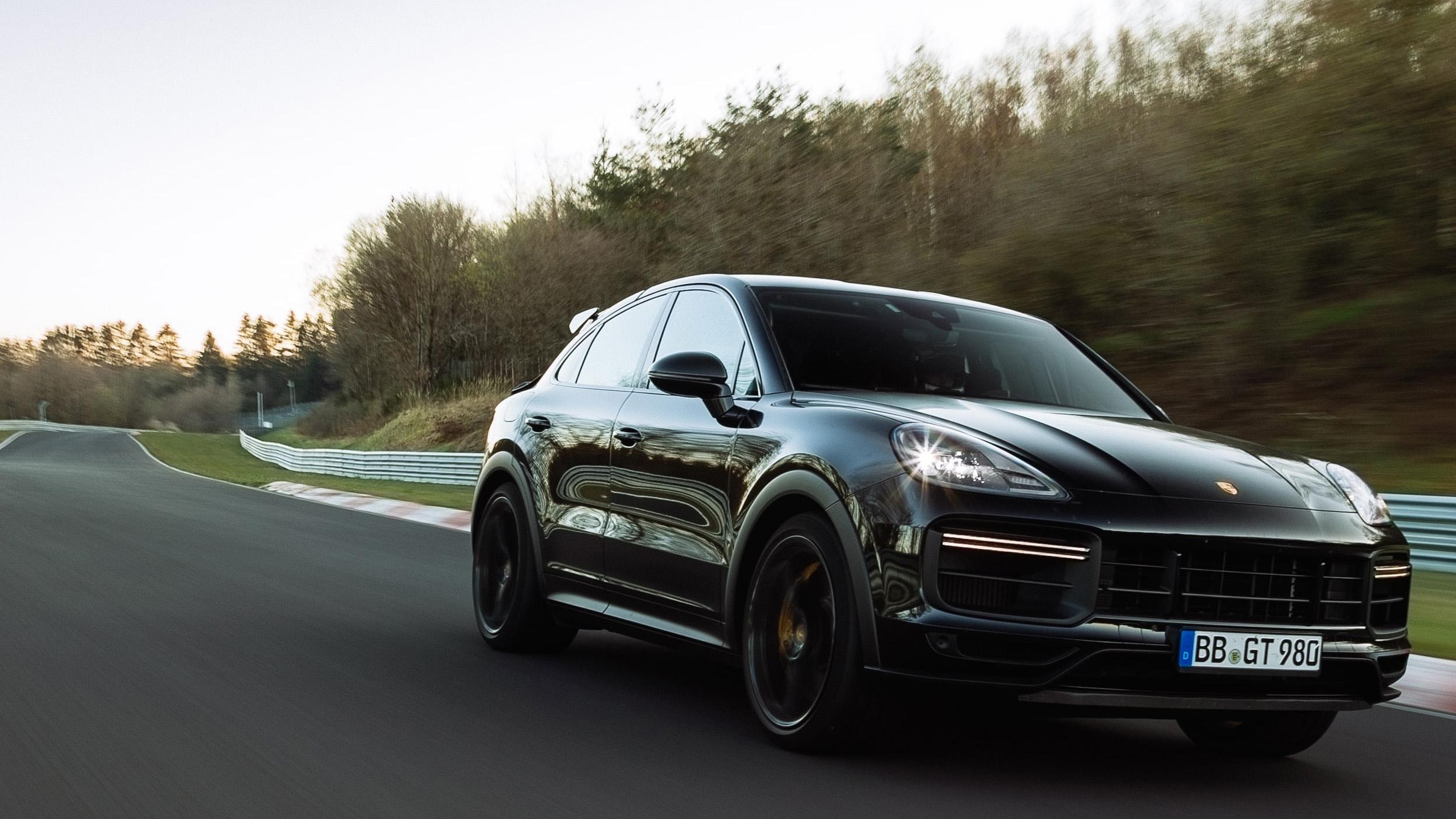 【影】七分半征服紐柏林 全新高性能版 Porsche Cayenne 創紀錄
