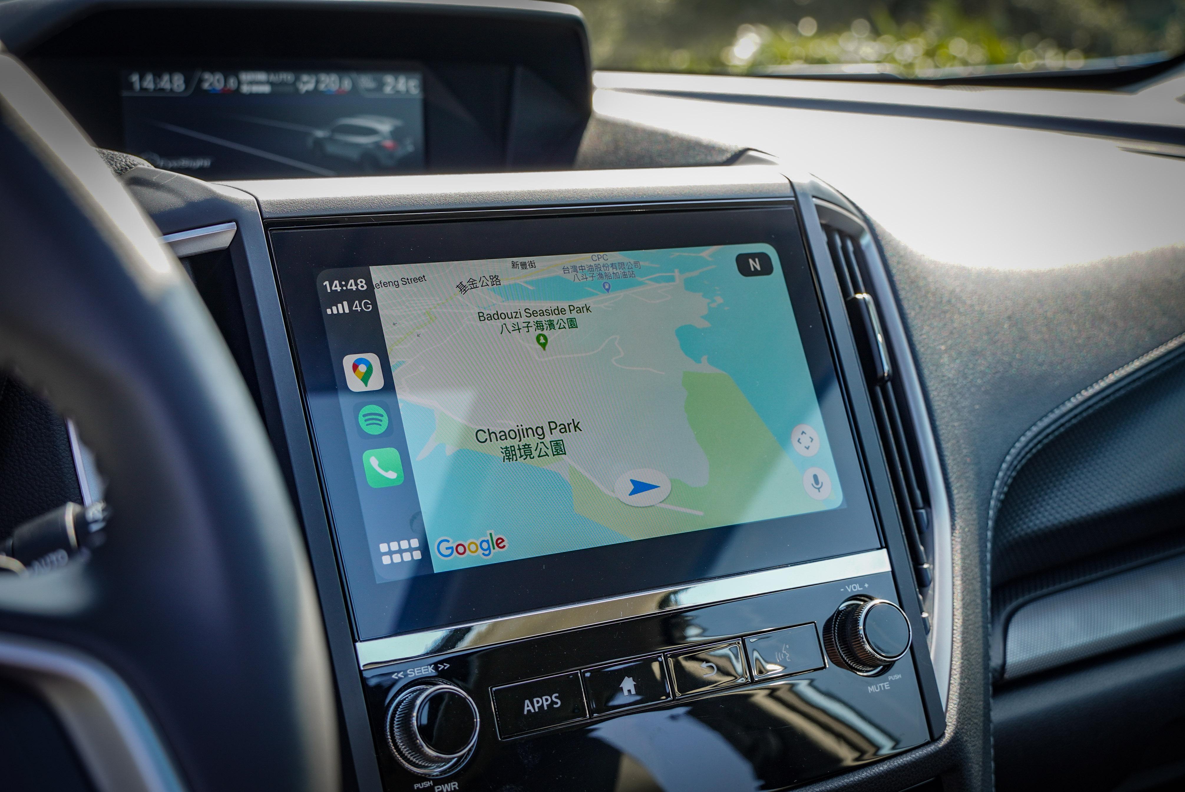 GT Edition 提供全新一代 Panasonic 主機,Apple CarPlay 與 Andriod Auto 是套件內容。