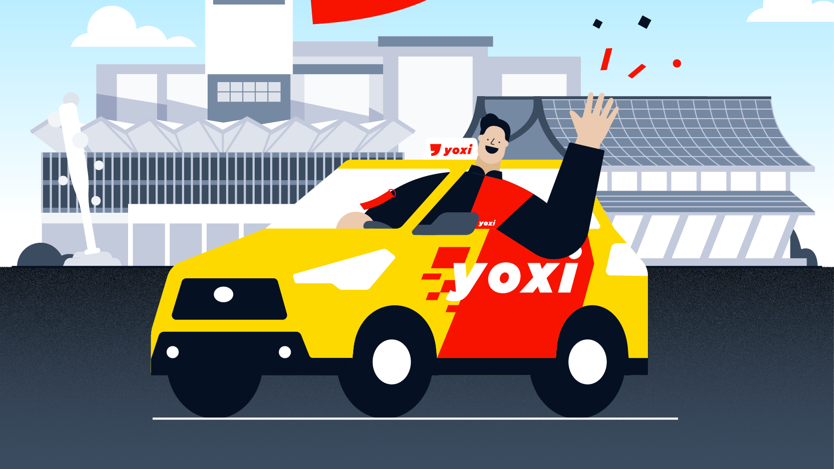 yoxi 進軍桃園,5/9 以前送 700 元搭車金!