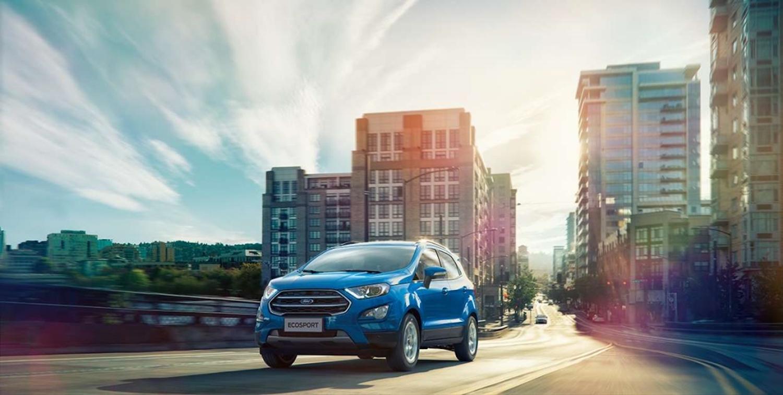 Ford EcoSport 1.5L 都會時尚型,享舊換新現金價 59.9 萬,並可再抽儲值 1 萬元的珍藏限量 iCash2.0 卡。