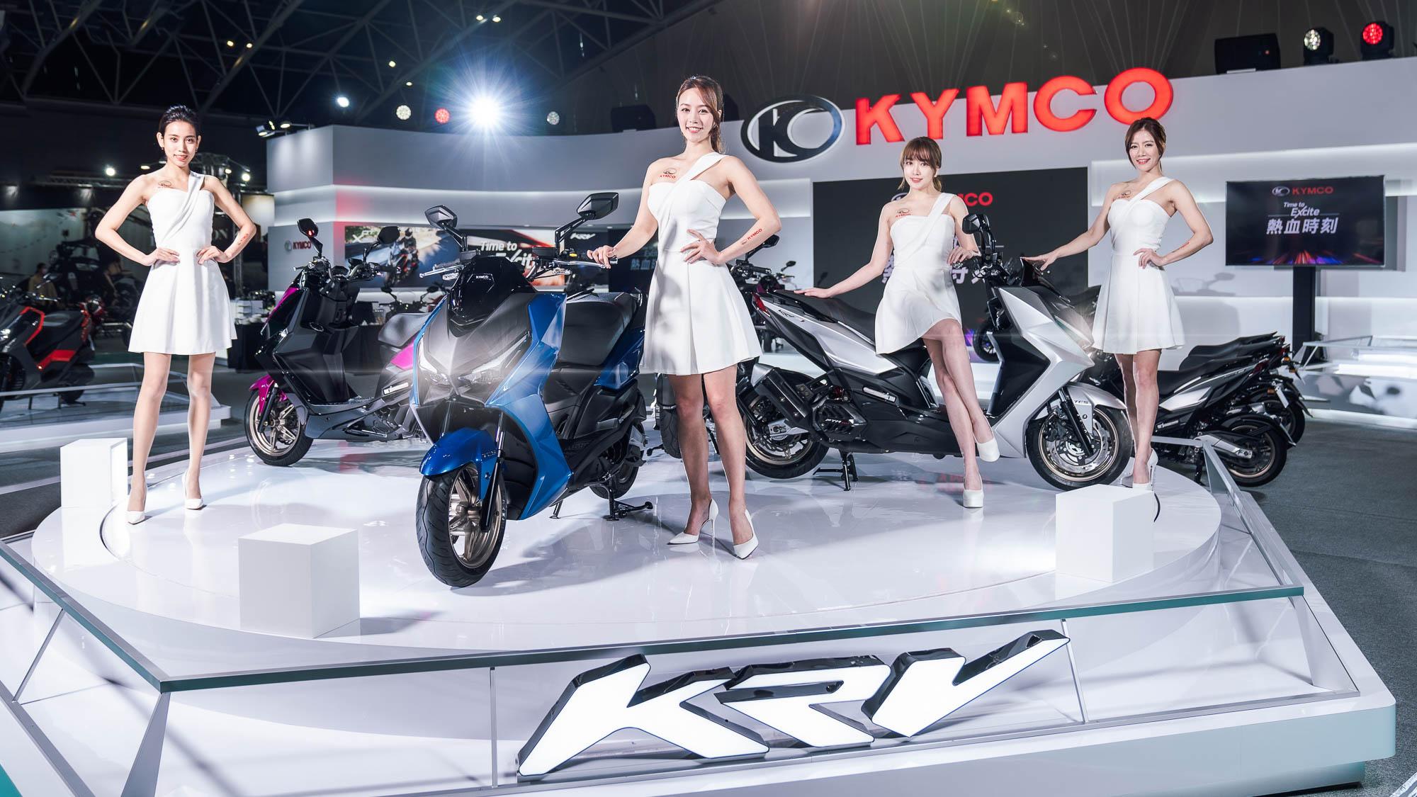 慶 Kymco 21 年連霸!新北五股國際摩托車展 KRV 與 DT X360 登場