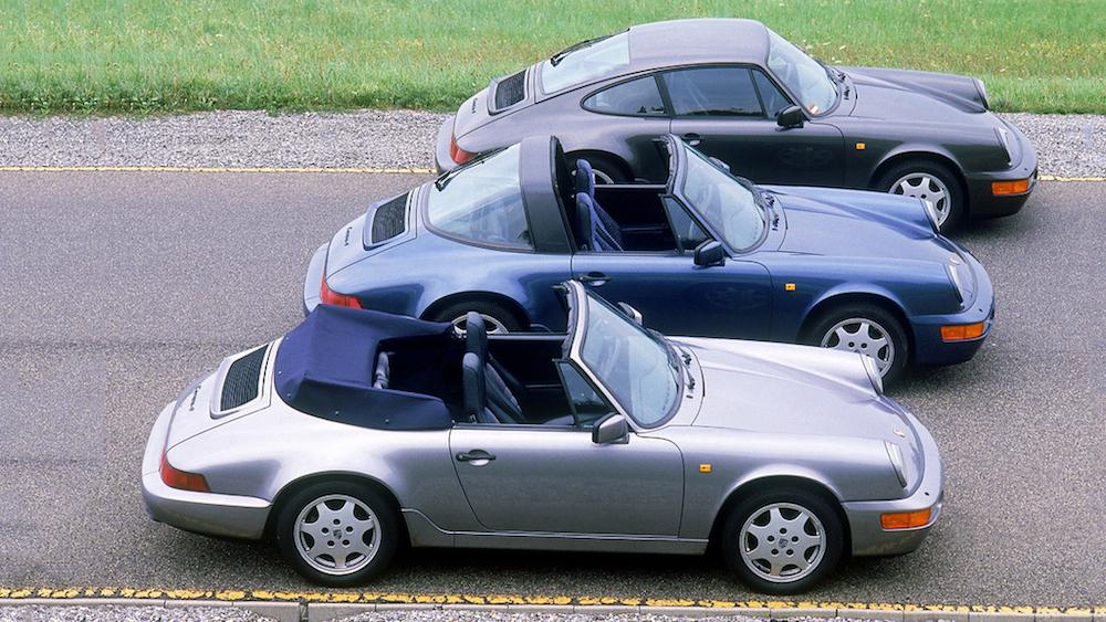 全新 Porsche 911 Targa 登場前夕,先來回顧車系歷史