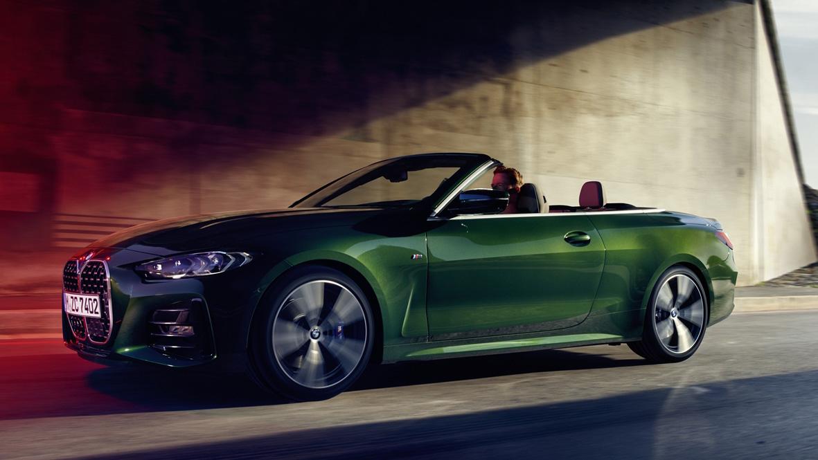 敞篷更吸睛!BMW 4系列 Convertible 315 萬元預售展開