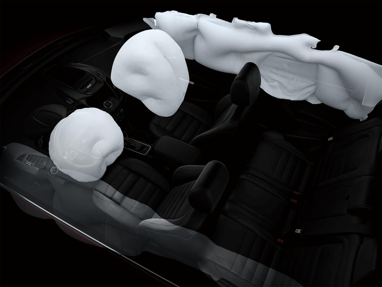 全車系標配七具SRS輔助氣囊。