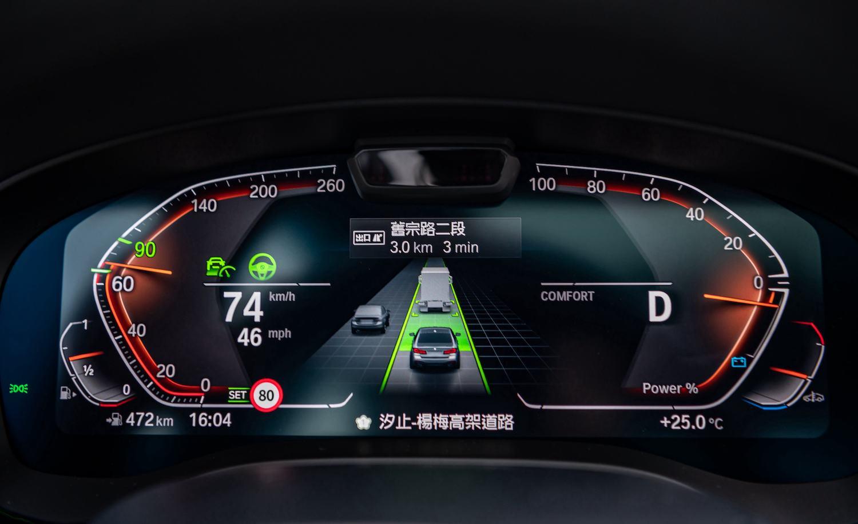 全車系標準配備 BMW Personal CoPilot 智慧駕駛輔助科技升級自動倒車輔助系統、道路虛擬實境顯示功能與速限輔助功能。