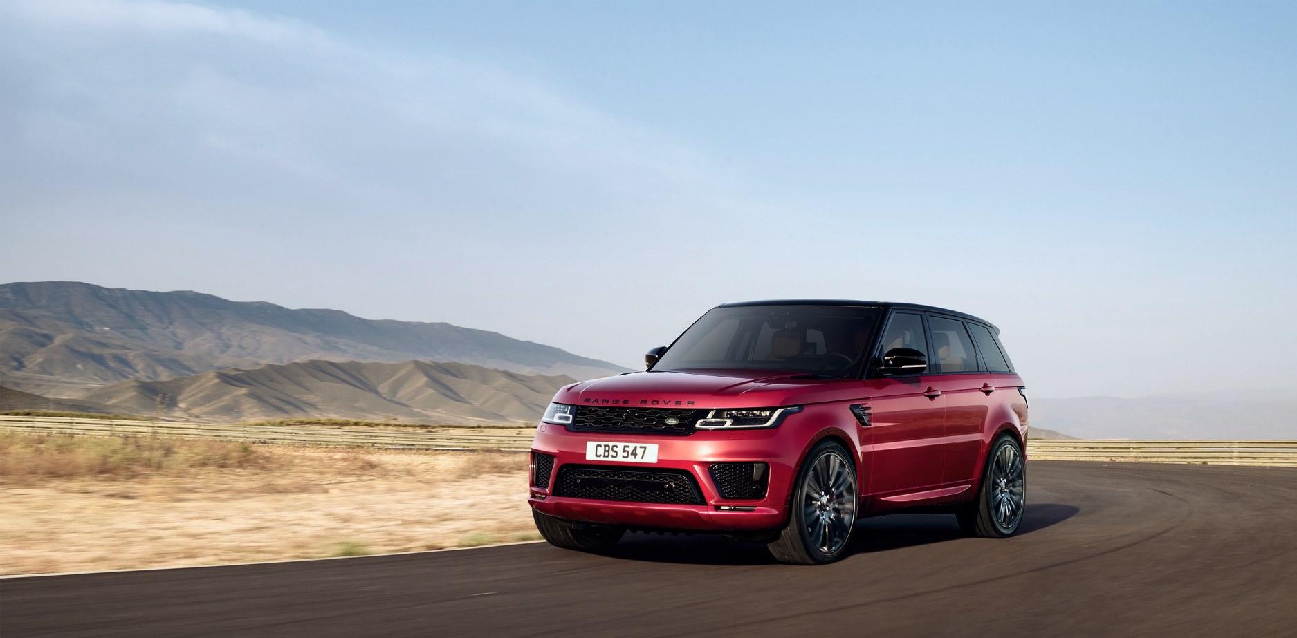 Land Rover Range Rover Sport。