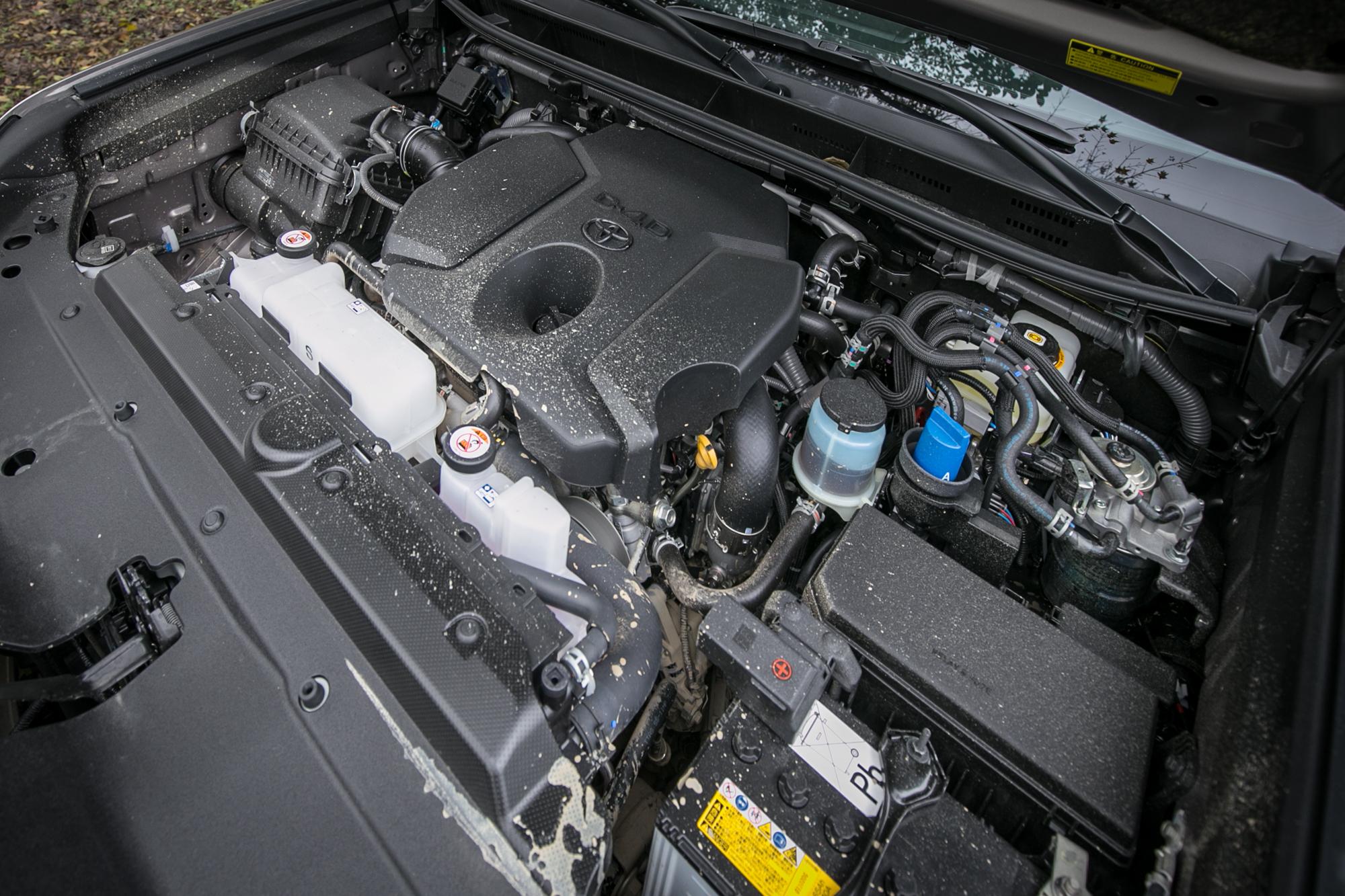 換上全新 2.8 升直列四缸柴油引擎為此次升級重點。