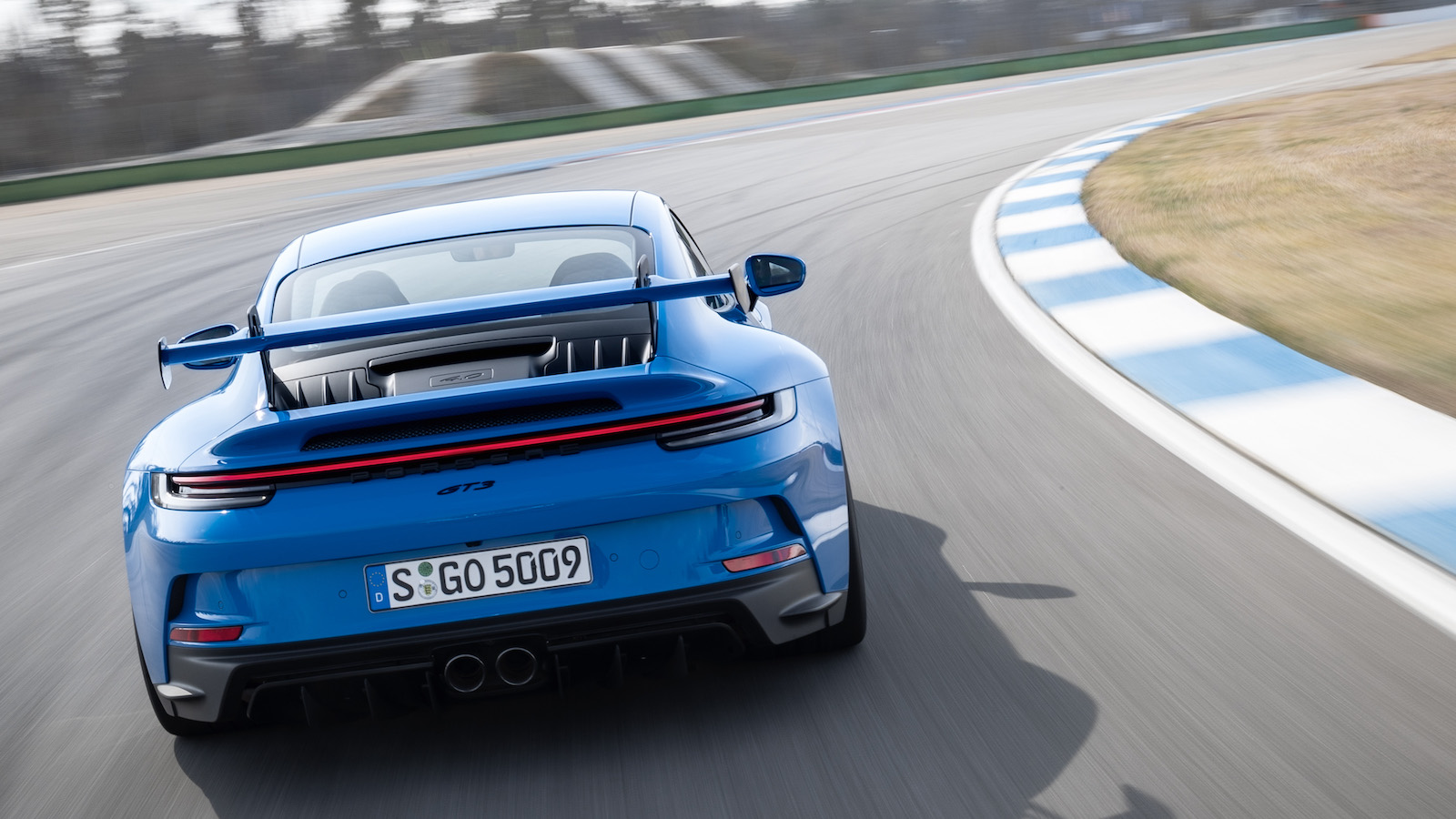 Porsche 911 GT3:源於賽道的極致調校