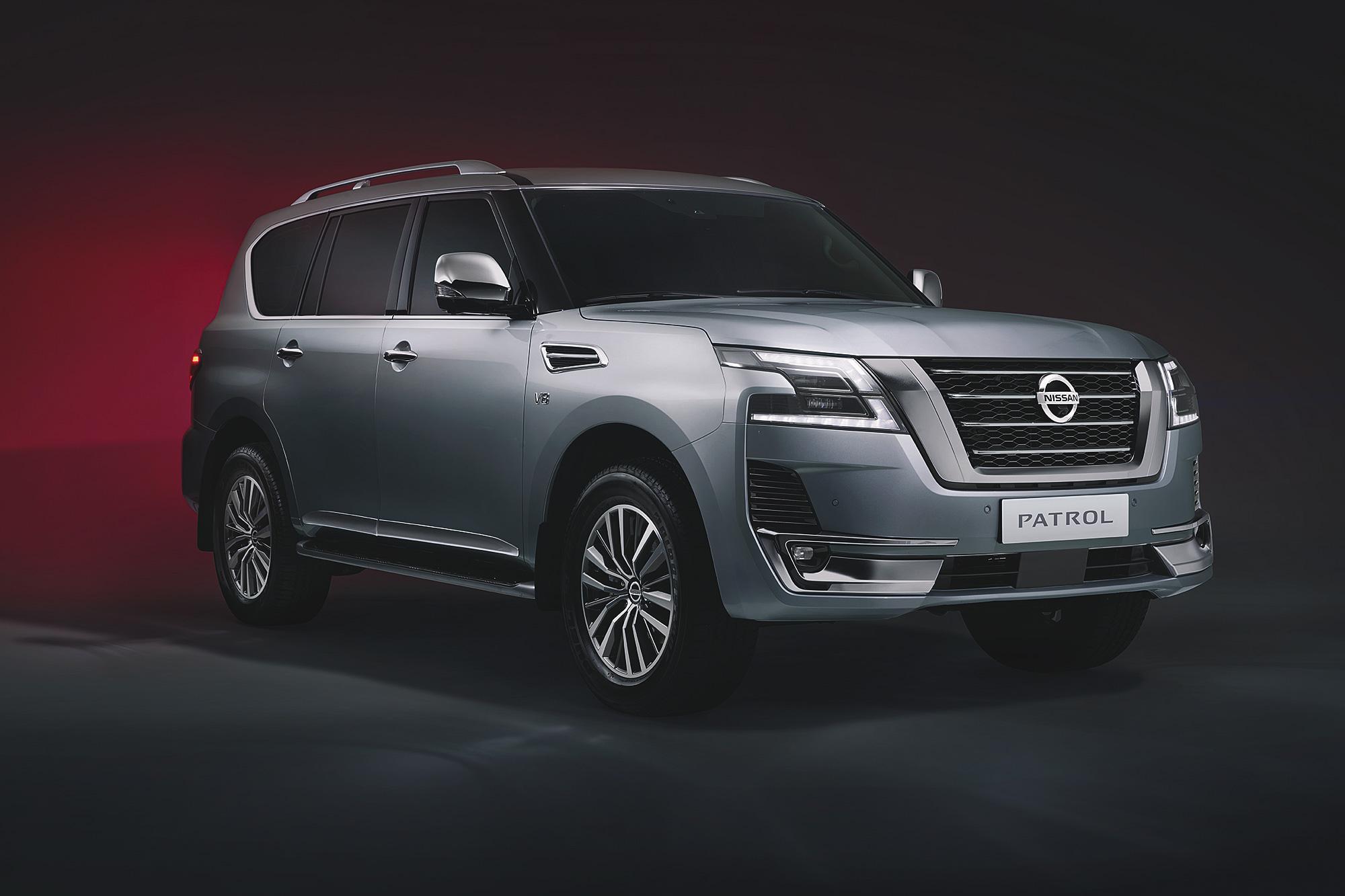 2020 年式 Patrol 小改款是本週少數發表的量產新車