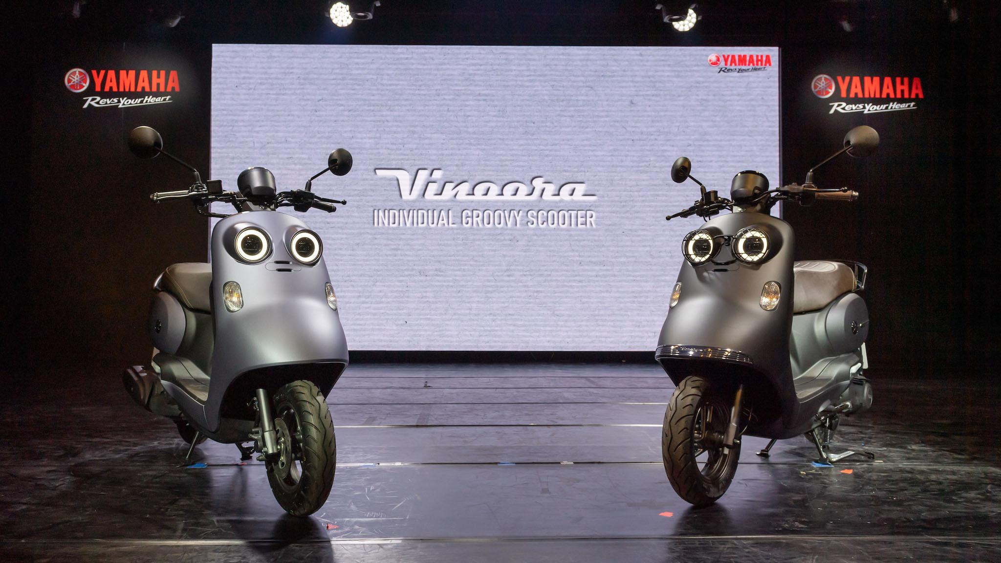 Yamaha Vinoora 即日起至 12 月 31 日止購車即享 18 期零利率分期。