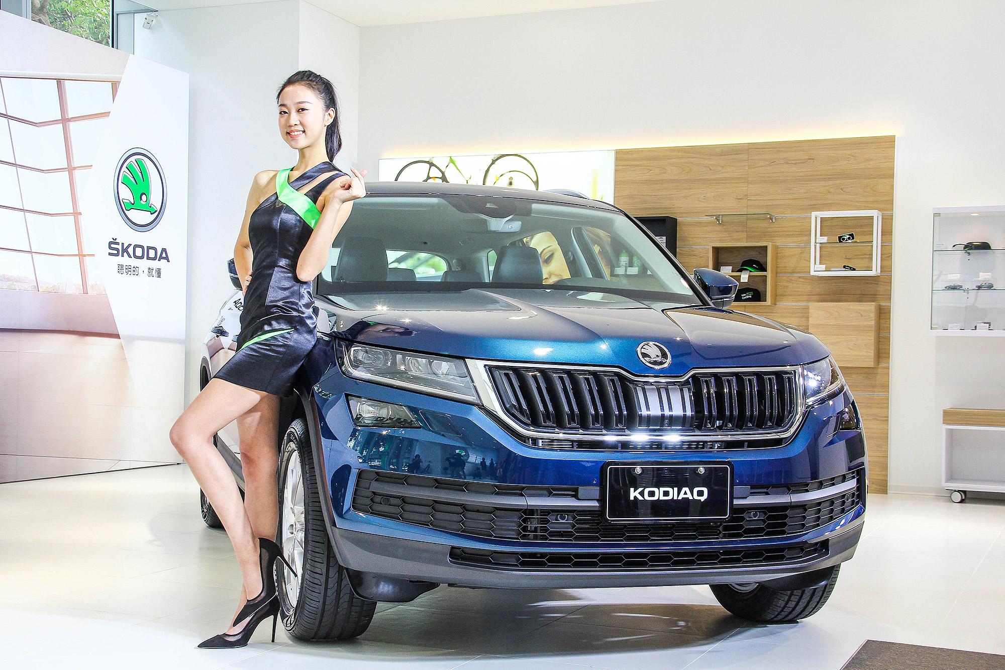 2020 年式 Kodiaq 將持續扮演 Škoda 在台灣休旅市場的主力銷售產品。