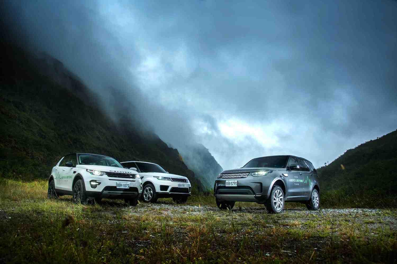 探索福爾摩沙遺落天堂,Land Rover「The Above and Beyond Tour」登台