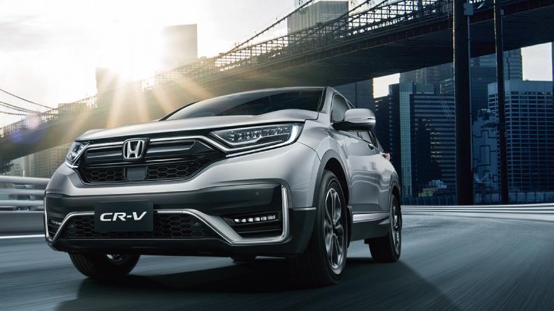 Honda CR-V 太會賣 上市累積訂單破 7,000 台