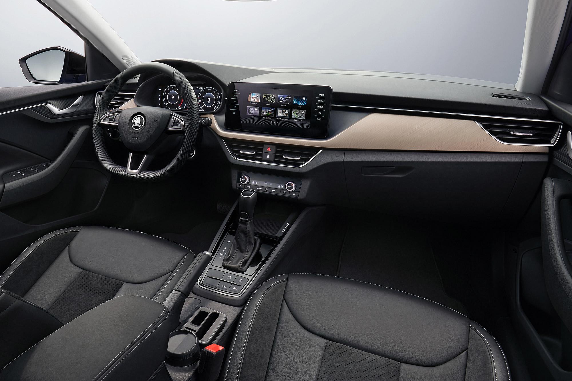 內外都植入 Škoda 新世代設計語言的 Scala 預計 2020 年第一季上市。
