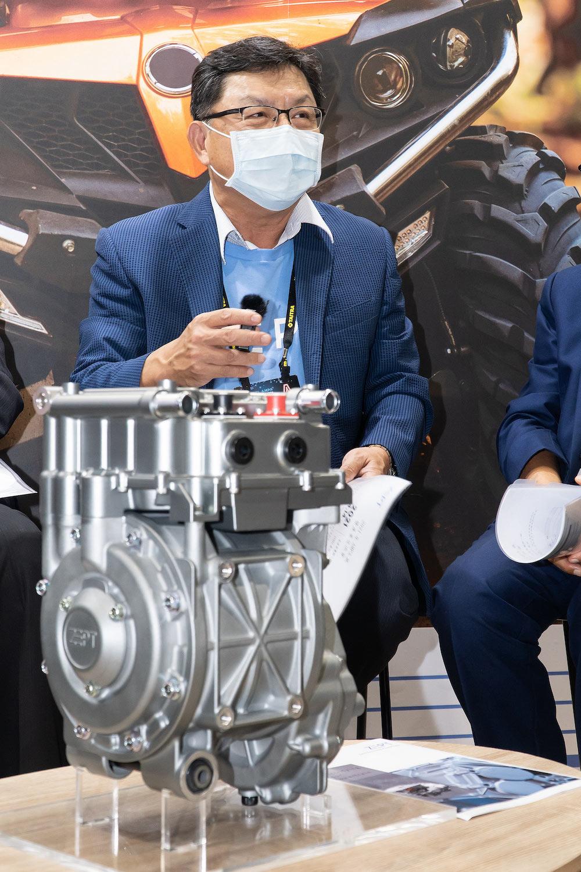 ZEPT捷能動力科技董事長林士賢。