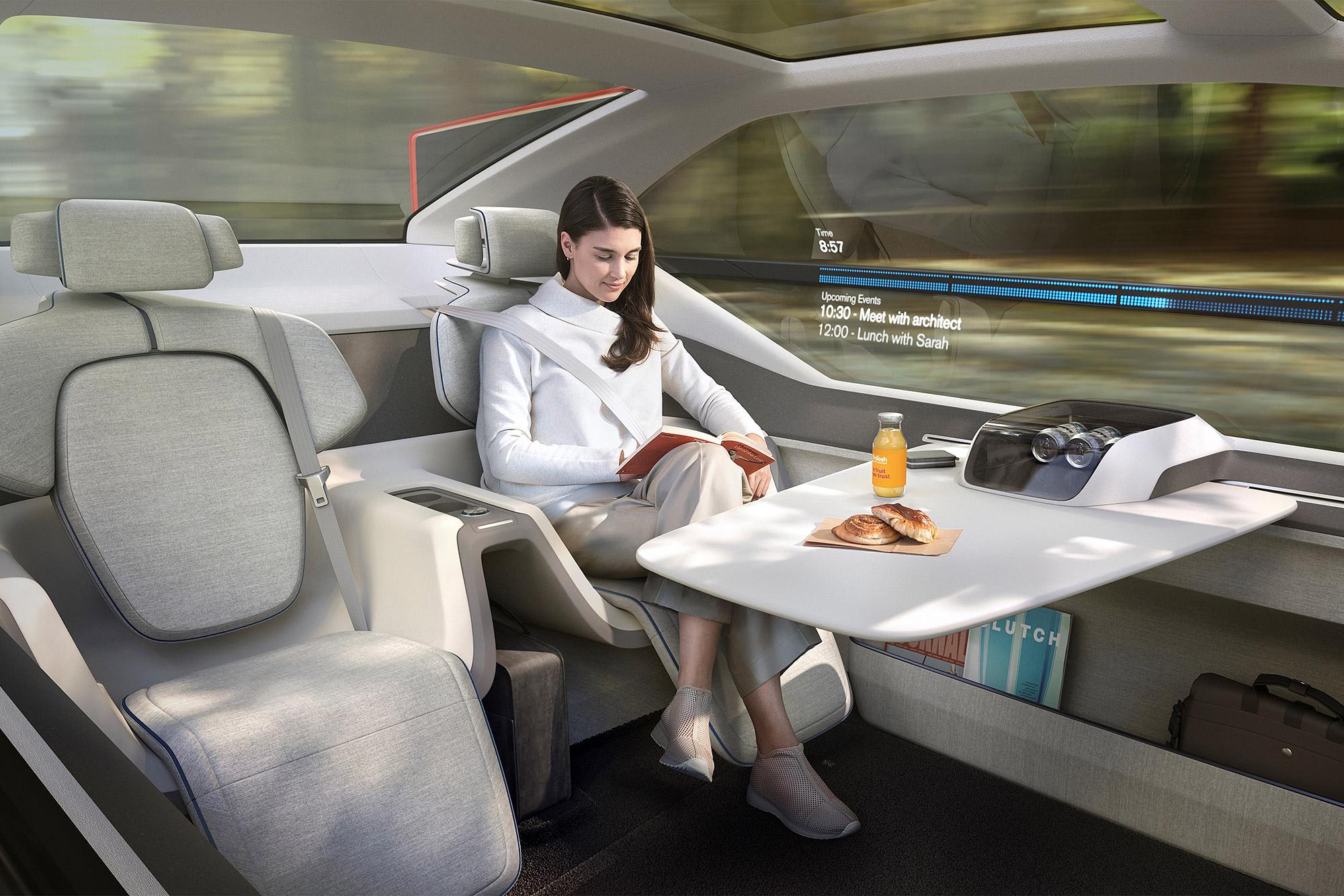 未來自動駕駛技術的導入,也將為汽車產業帶來另一番改變。