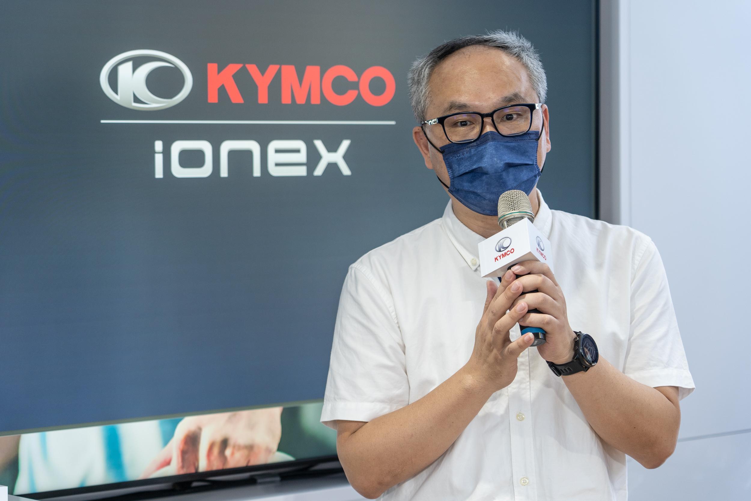 光陽Ionex銷售主管陳明賢總經理表示現在 Ionex 3.0 換電站速度以每天四站的極快速度積極佈建。