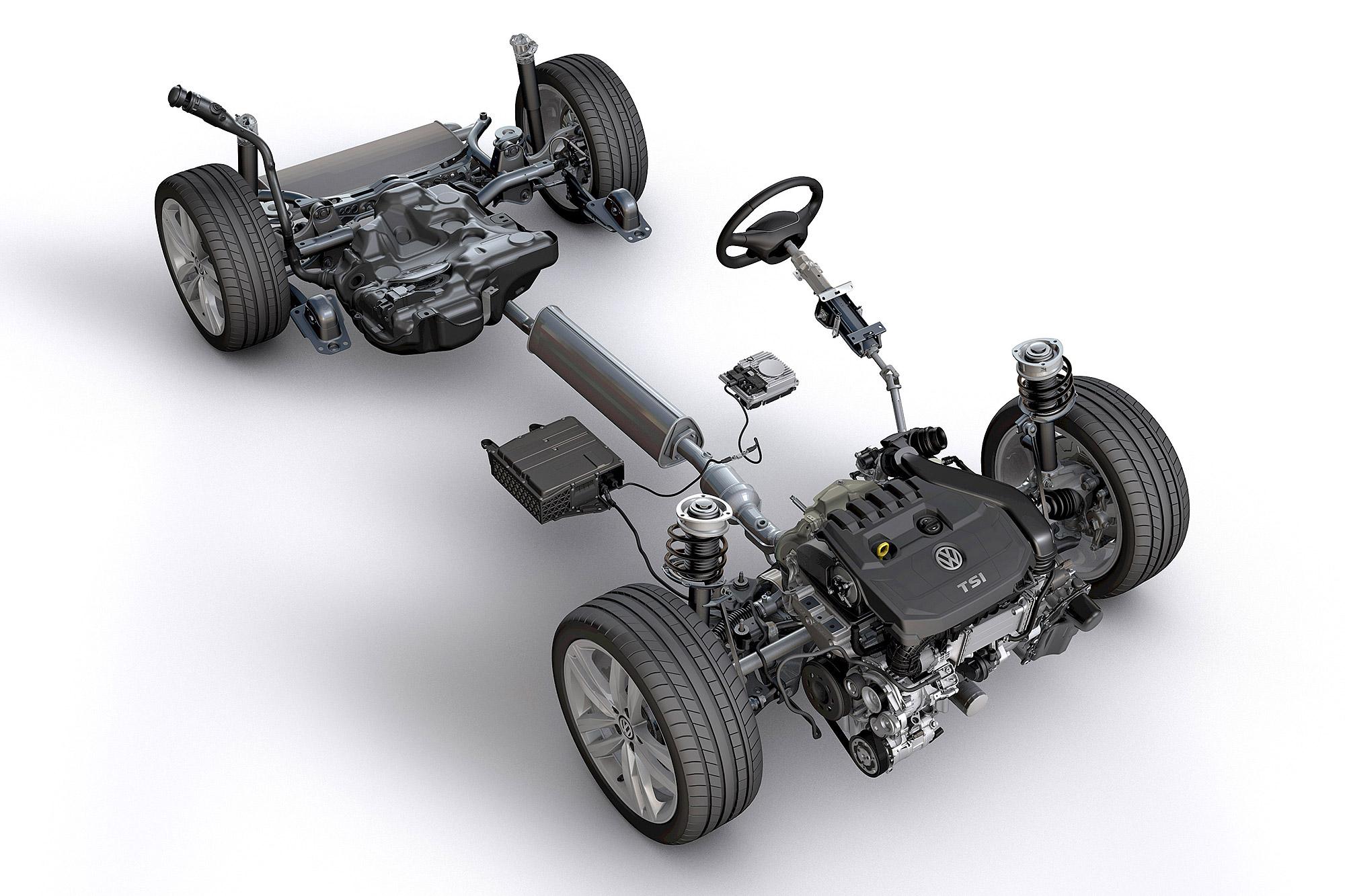 率先應用 Mild-Hybrid 技術的還是以豪華品牌的量產車 為主,平價品牌的步調稍晚。