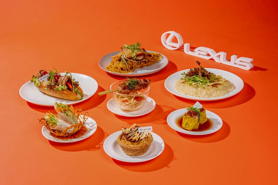 10 月 1 日起至 12 月 31 日特別攜手台北晶華酒店獨家合作,推出五星美食共四款前菜以及三款小主食。