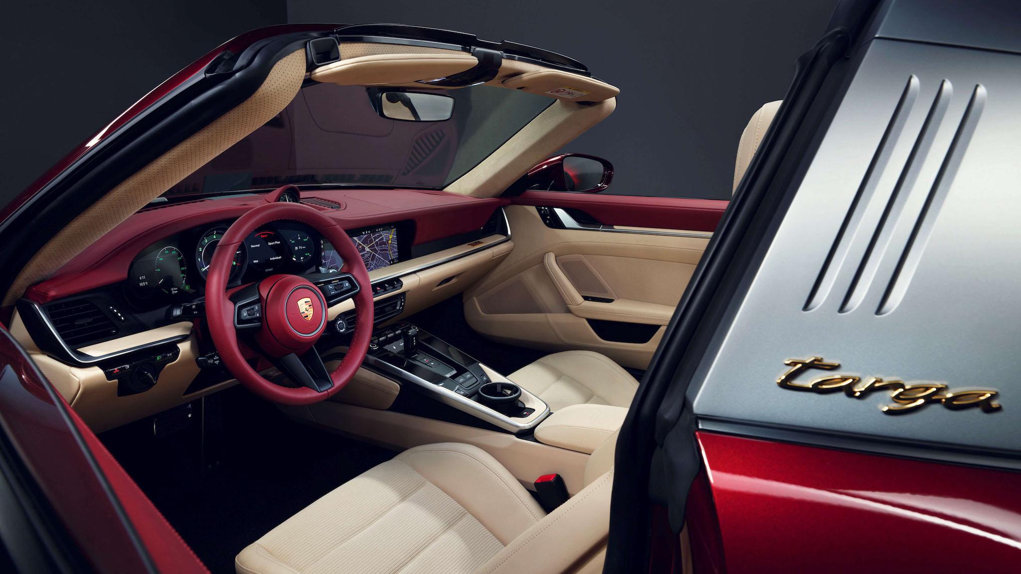 Porsche 推千萬級復刻版 911 Targa 4S Heritage Design Edition