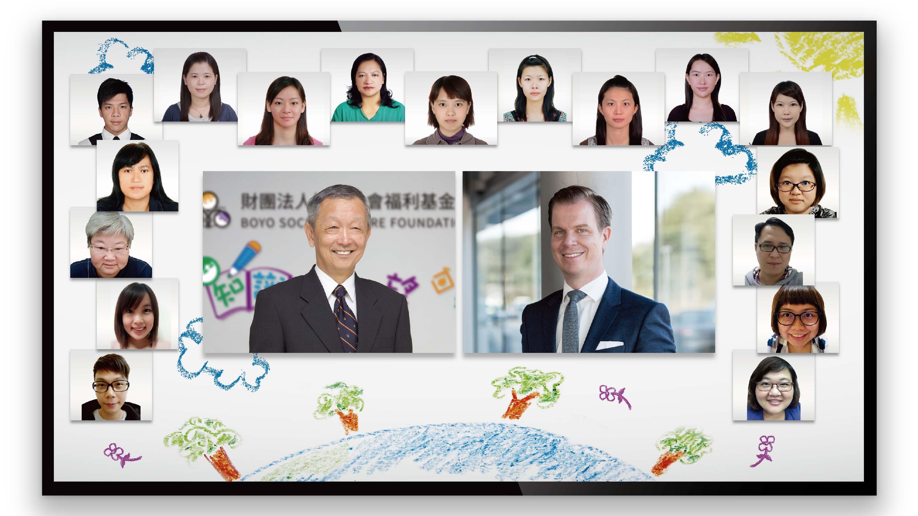 Porsche Taiwan 與經銷商捐贈 135 萬予博幼基金會