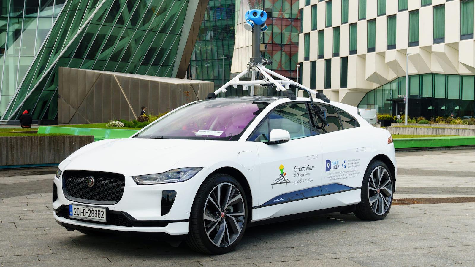 Jaguar 與 Google 合作 使用 I-PACE 監測都柏林空氣品質