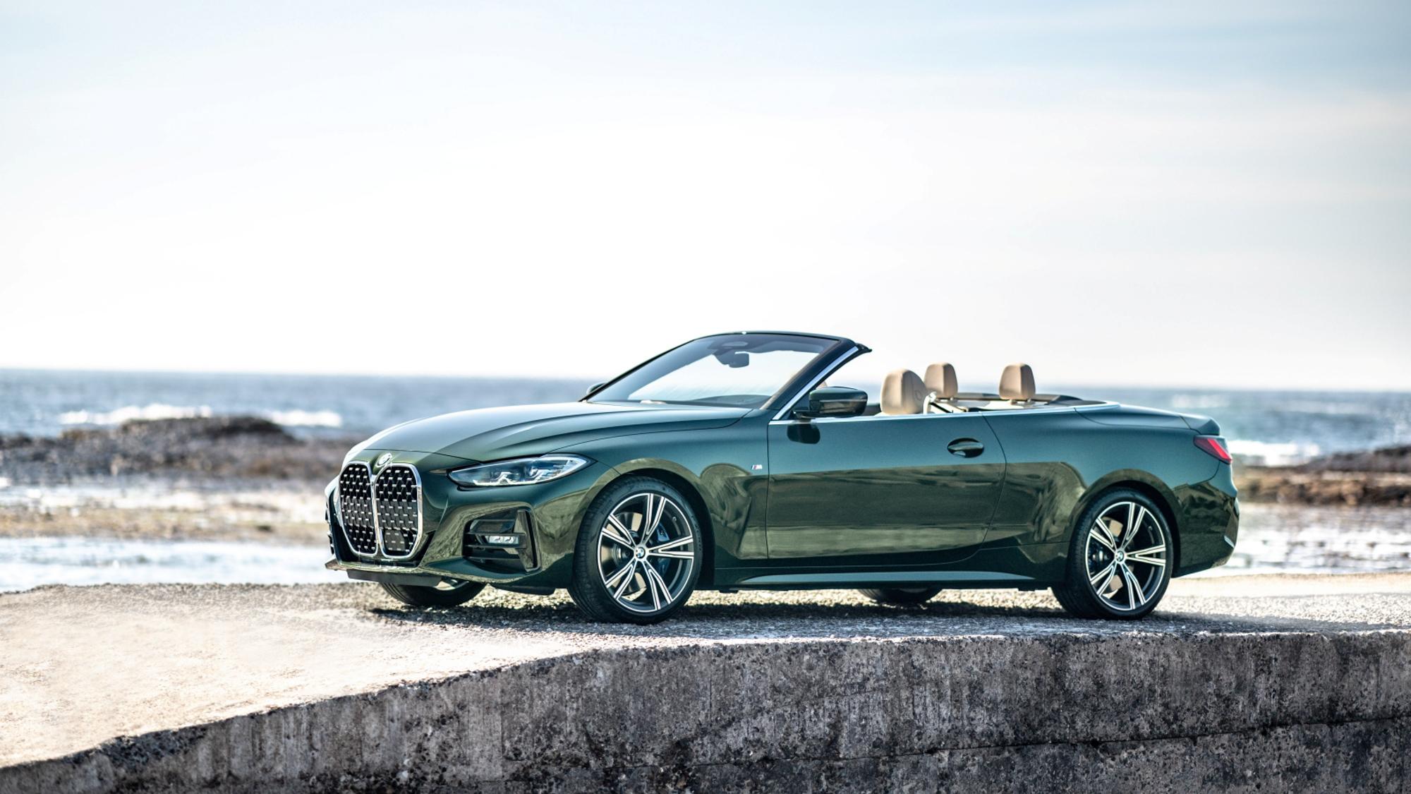 BMW 全新 4 系列 Convertible 敞篷跑車 315 萬登場