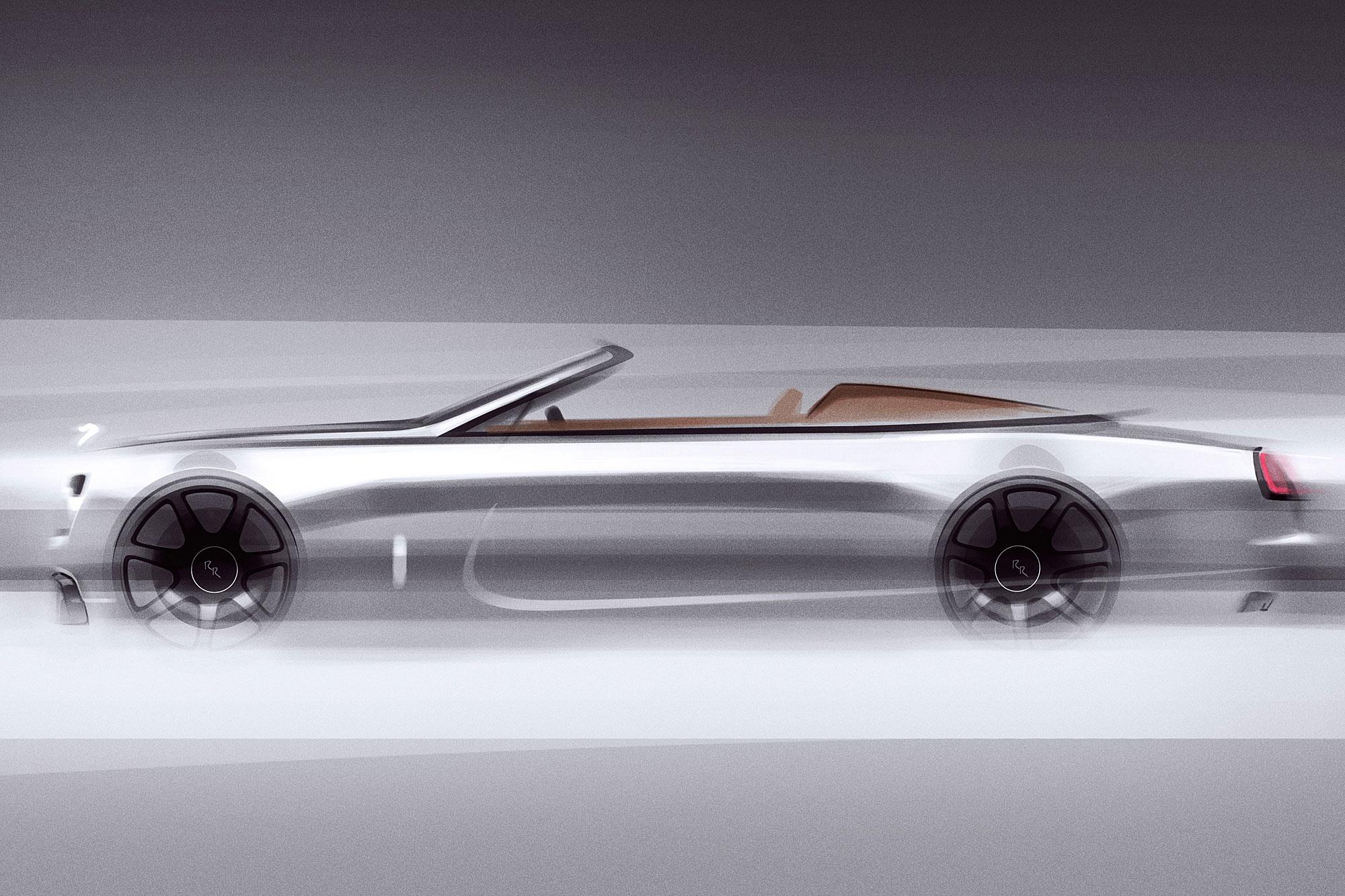 設計靈感來自於 1920 年代的 Rolls-Royce Roadster。