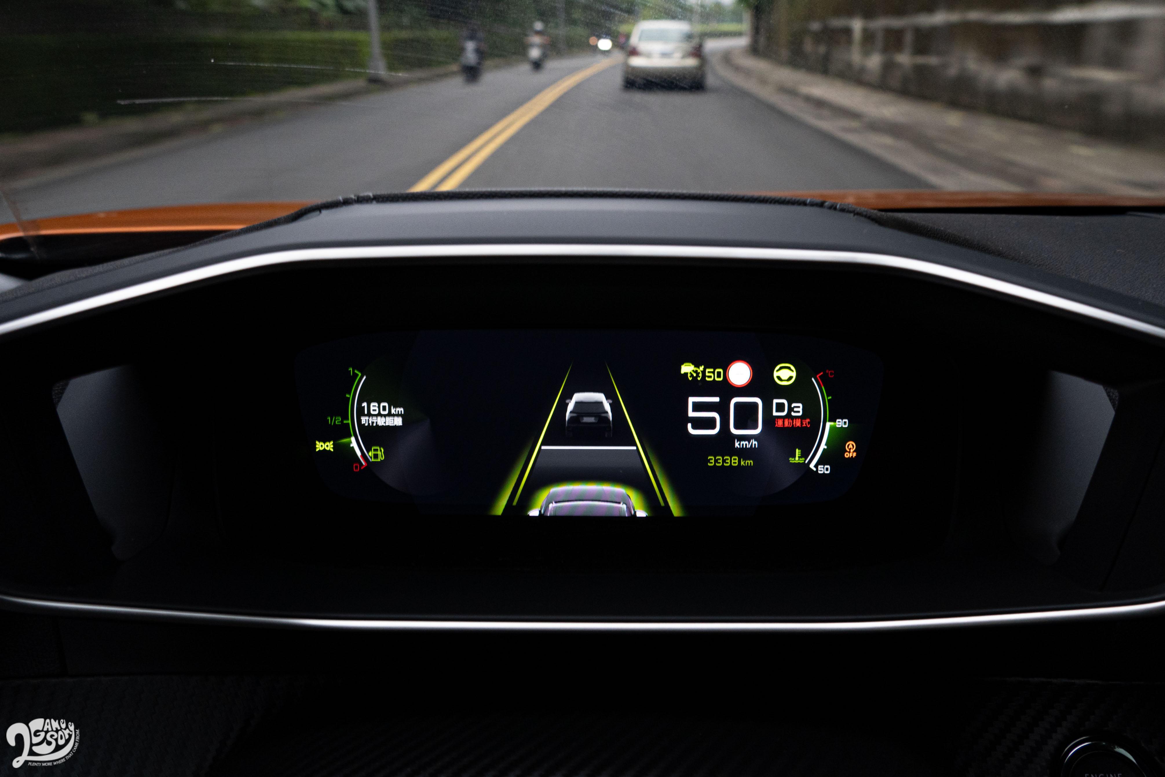 2008 具有 Level 2 自動駕駛輔助能力。